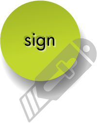 button-sign